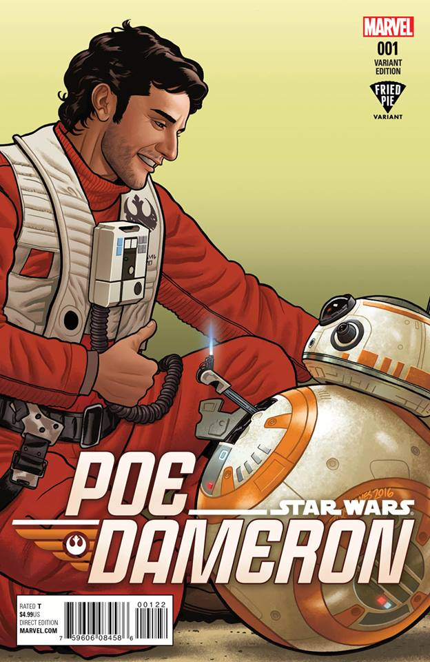 Star Wars Poe Dameron 1 - Fried Pie Variant