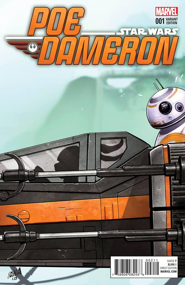Star Wars Poe Dameron 1 - Jaxxon Party Variant