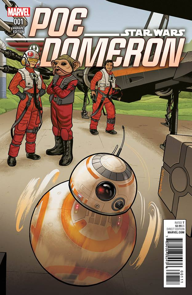 Star Wars Poe Dameron 1 - BB-8 Variant