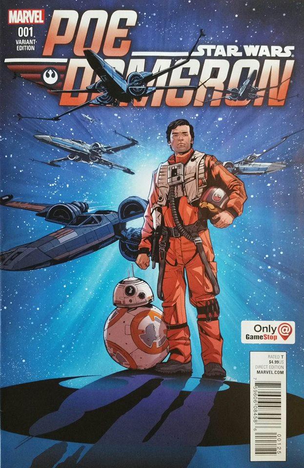 Star Wars Poe Dameron 1 - GameStop Variant