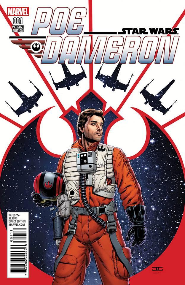 Star Wars Poe Dameron 1 - Resistance Variant