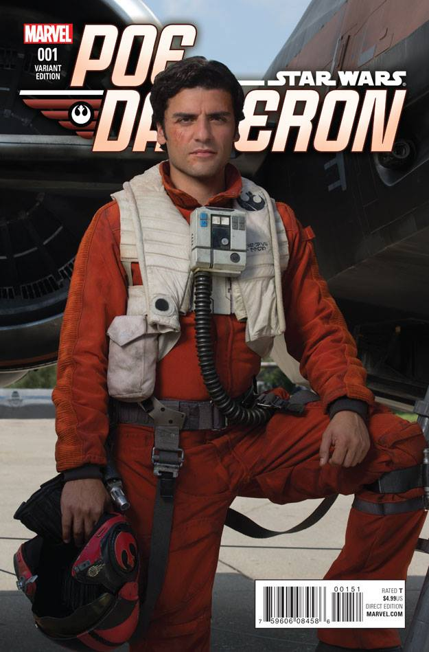 Star Wars Poe Dameron 1 - Movie Variant