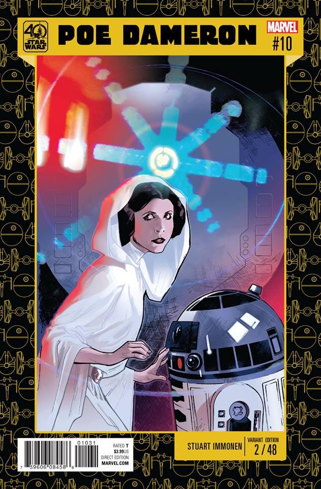 Star Wars Poe Dameron 10 - 40th Anniversary Variant (Stuart Immonen)