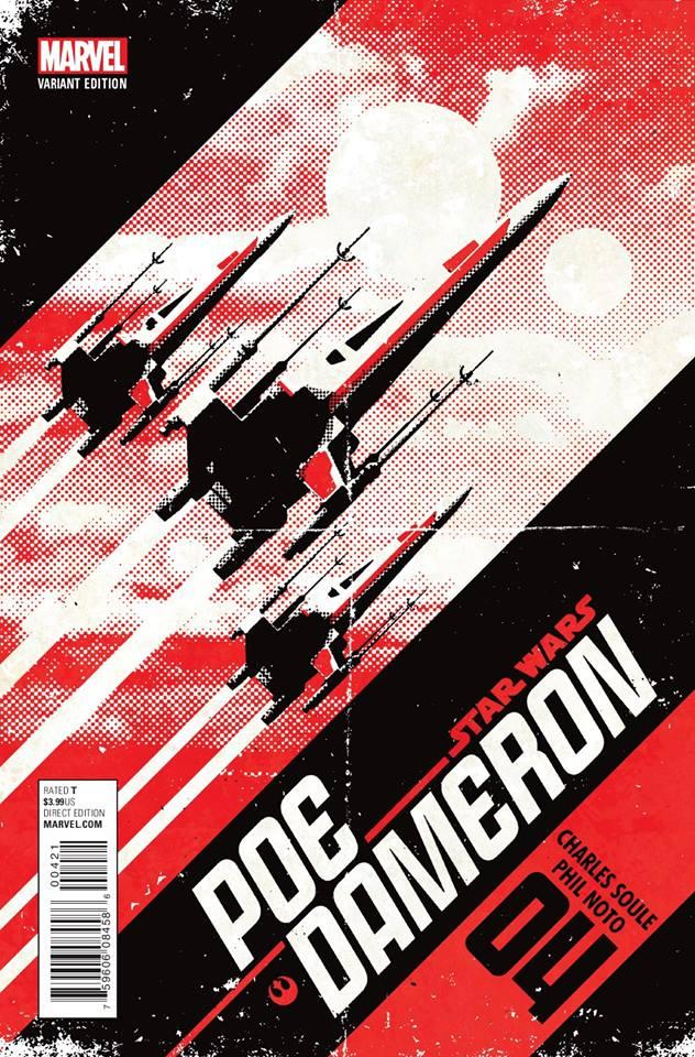 Star Wars Poe Dameron 4 - X-Wings Variant