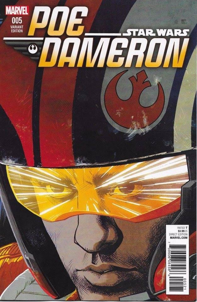 Star Wars Poe Dameron 5 (Cameron Stewart variant)