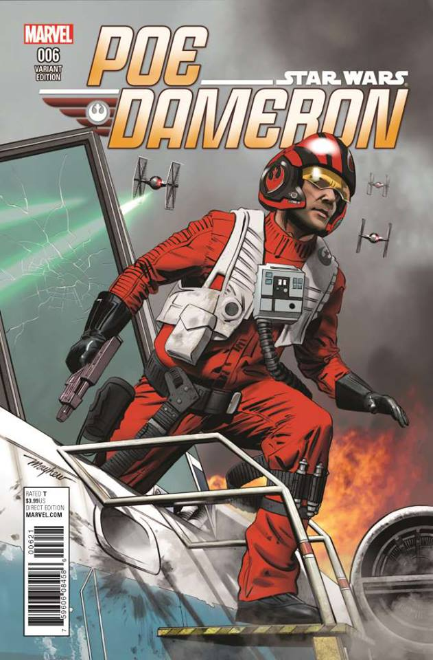 Star Wars Poe Dameron 6 - Mayhew Poe Variant Cover