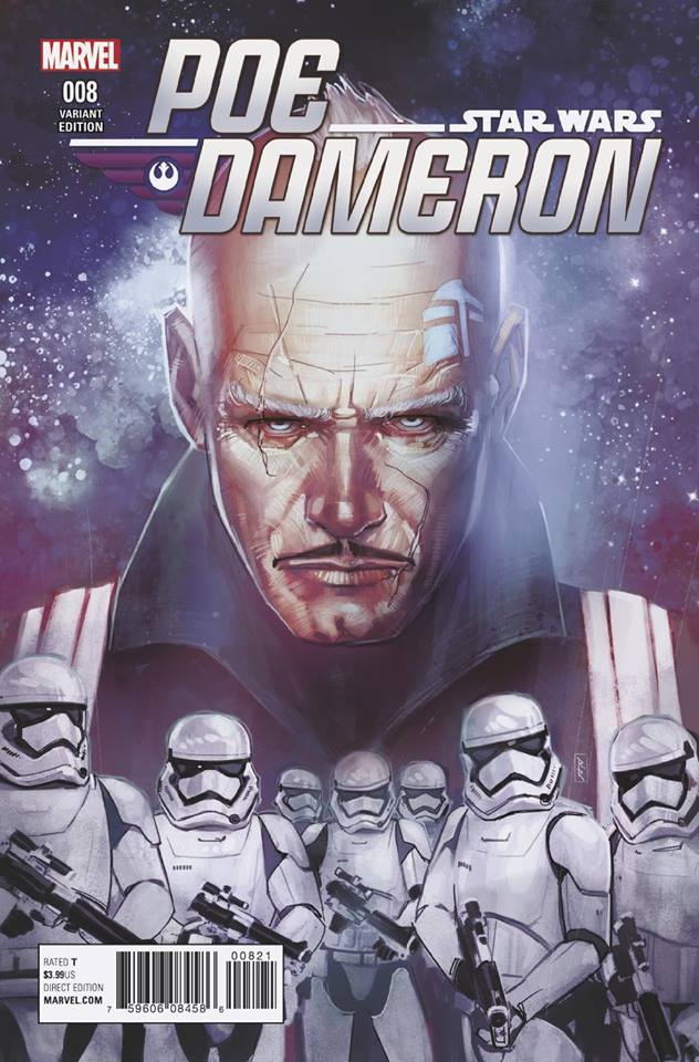 Star Wars Poe Dameron 8 - Reis Variant