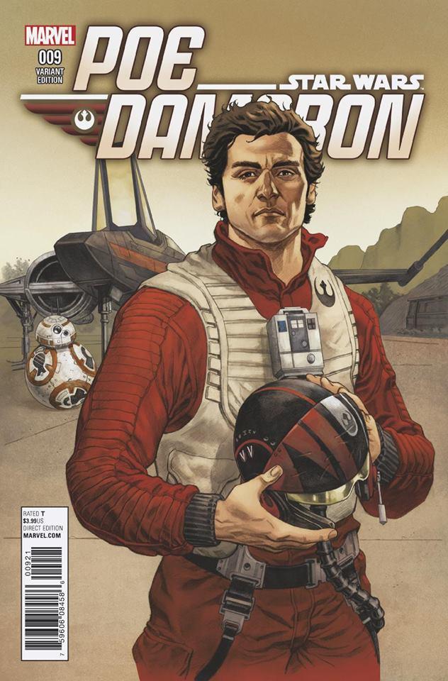 Star Wars Poe Dameron 9 - Hawthorne Variant