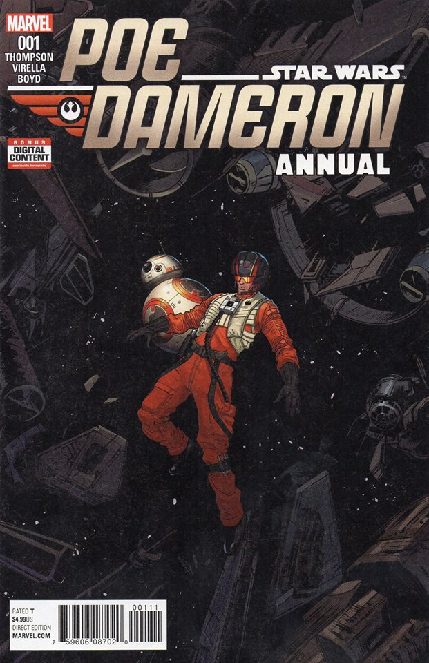 Star Wars Poe Dameron Annual 1