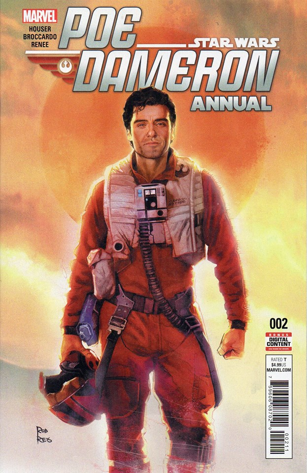 Star Wars Poe Dameron Annual 2