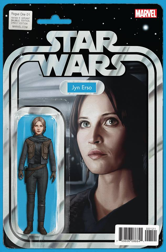 Rogue One: A Star Wars Story 1 - Action Figure Variant - Jyn Erso