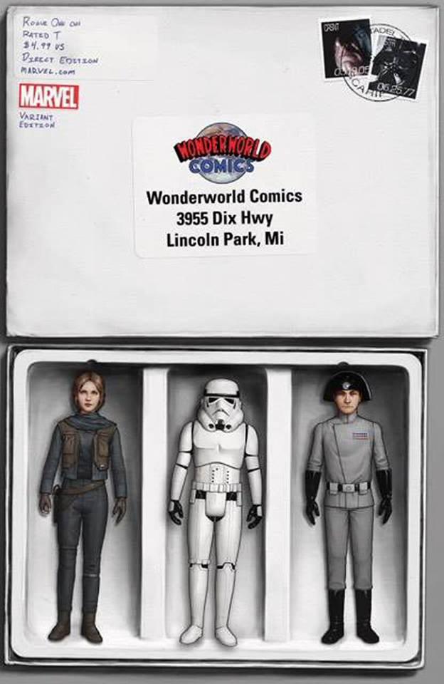Rogue One: A Star Wars Story 1 - Wonderworld Comics Variant