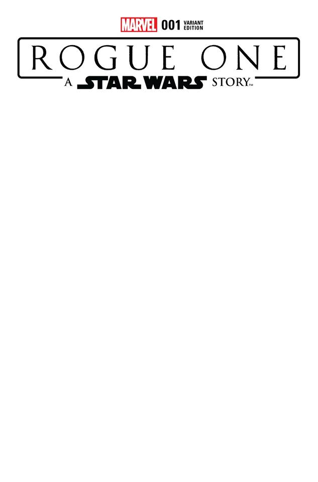 Rogue One: A Star Wars Story 1 - Blank Variant