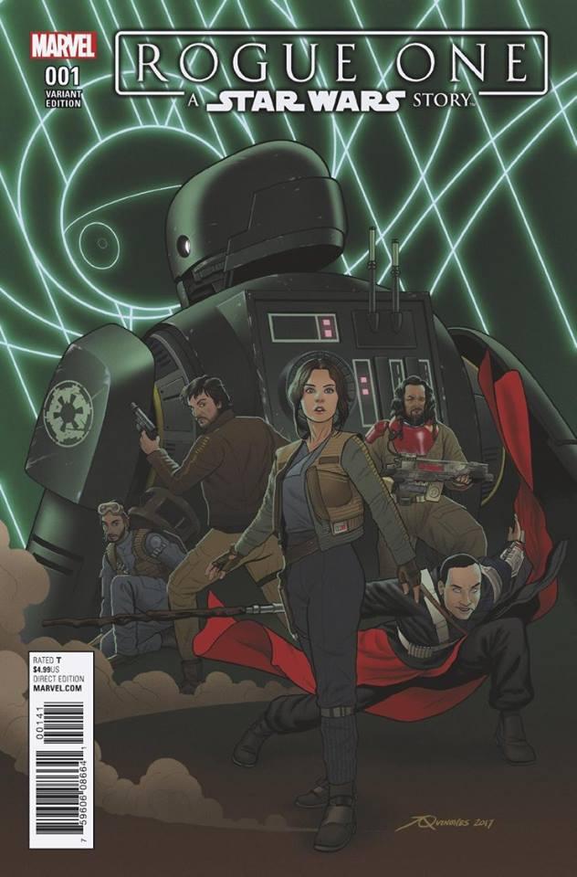 Rogue One: A Star Wars Story 1 - Droids Variant (Joe Quinones)