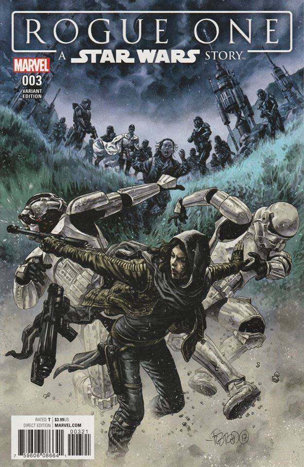 Rogue One: A Star Wars Story 3 - Duncan Fegredo Variant