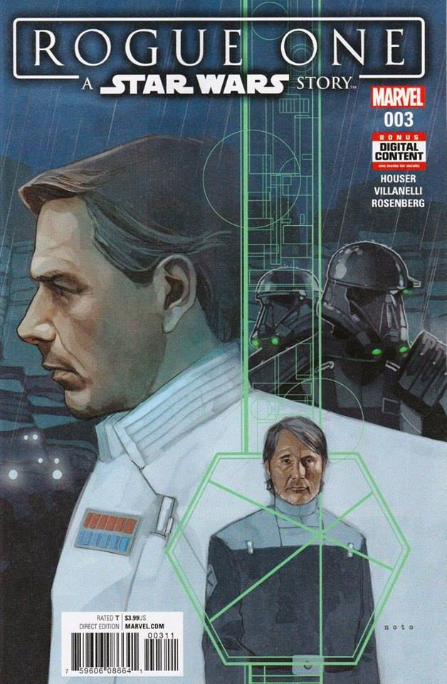 Rogue One: A Star Wars Story 3 - First Printing