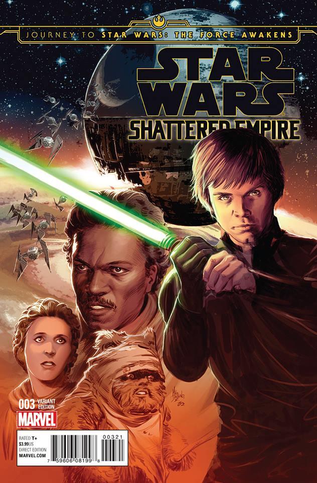 Star Wars Shattered Empire 3 - Ensemble Variant