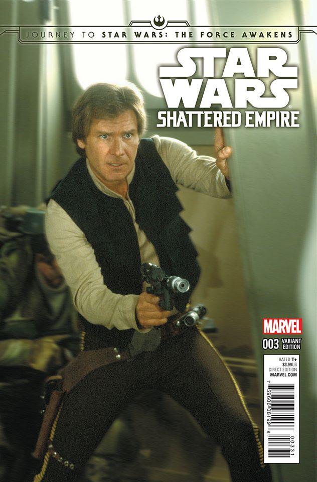 Star Wars Shattered Empire 3 - Movie Variant