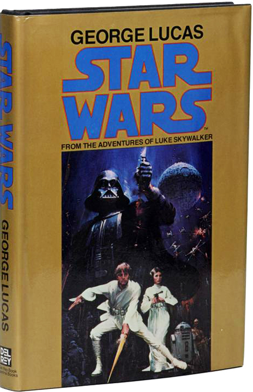 Star Wars: From the Adventures of Luke Skywalker (Gold Harback)