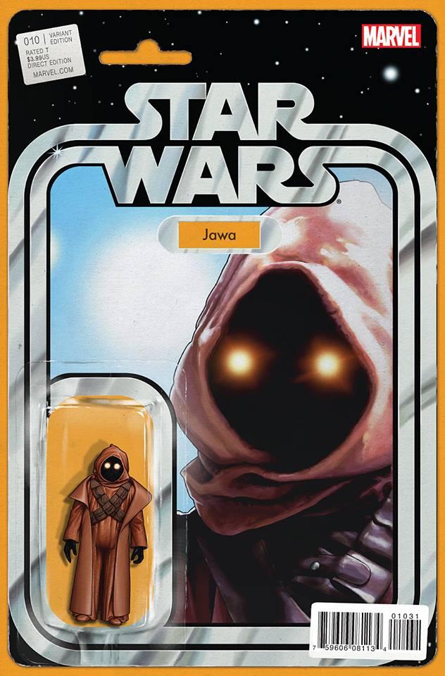 Star Wars 10 (Marvel 2015) - Action Figure Variant - Jawa