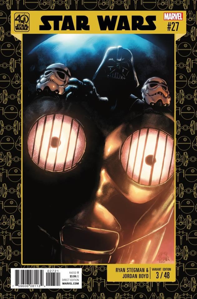 Star Wars 27 (Marvel 2015) - 40th Anniversary Variant (Ryan Stegman & Jordan Boyd)