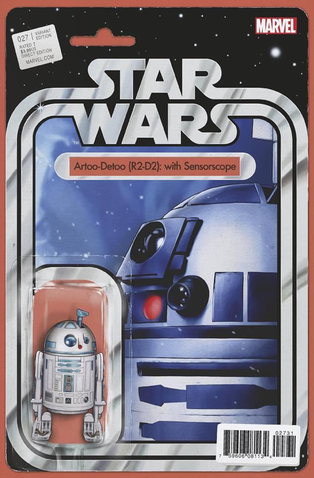 Star Wars 27 (Marvel 2015) - Action Figure Variant - R2-D2 with Sensor Scope