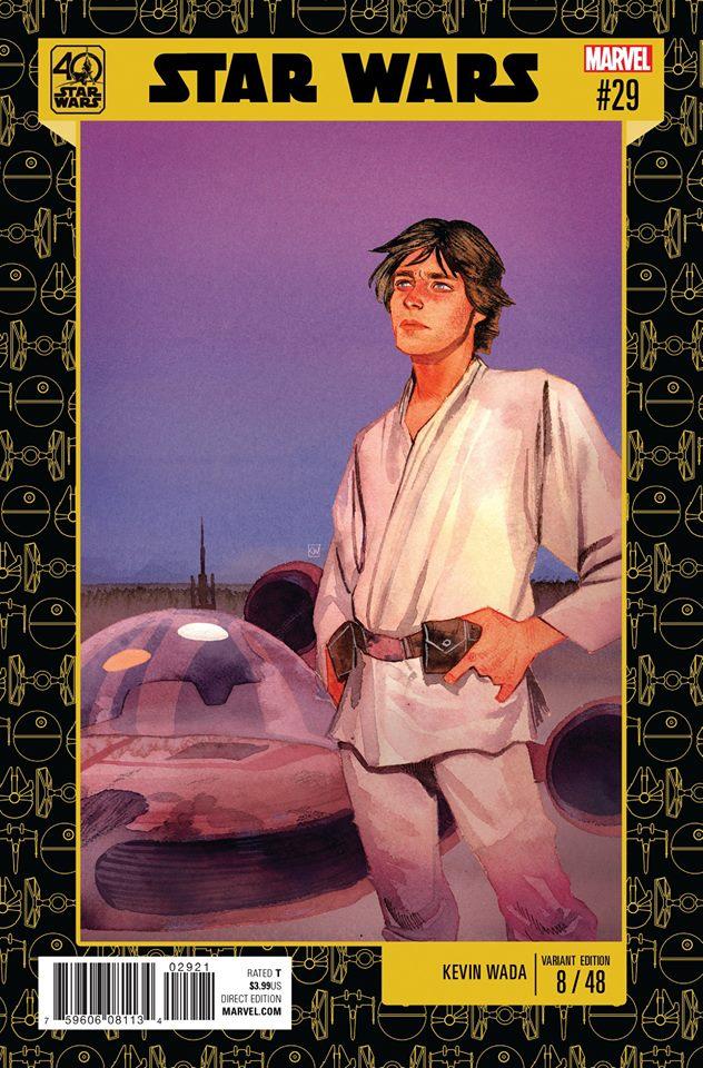Star Wars 29 (Marvel 2015) - 40th Anniversary Variant (Kevin Wada)