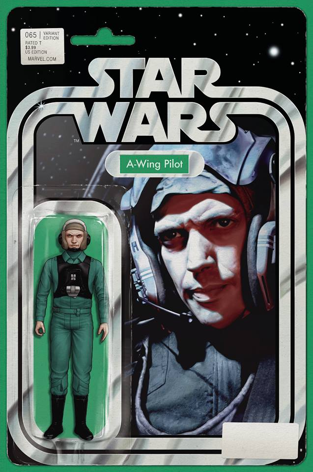 Star Wars 65 (Marvel 2015) - Action Figure Variant