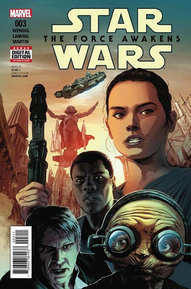 Star Wars The Force Awakens 3 - First Printing
