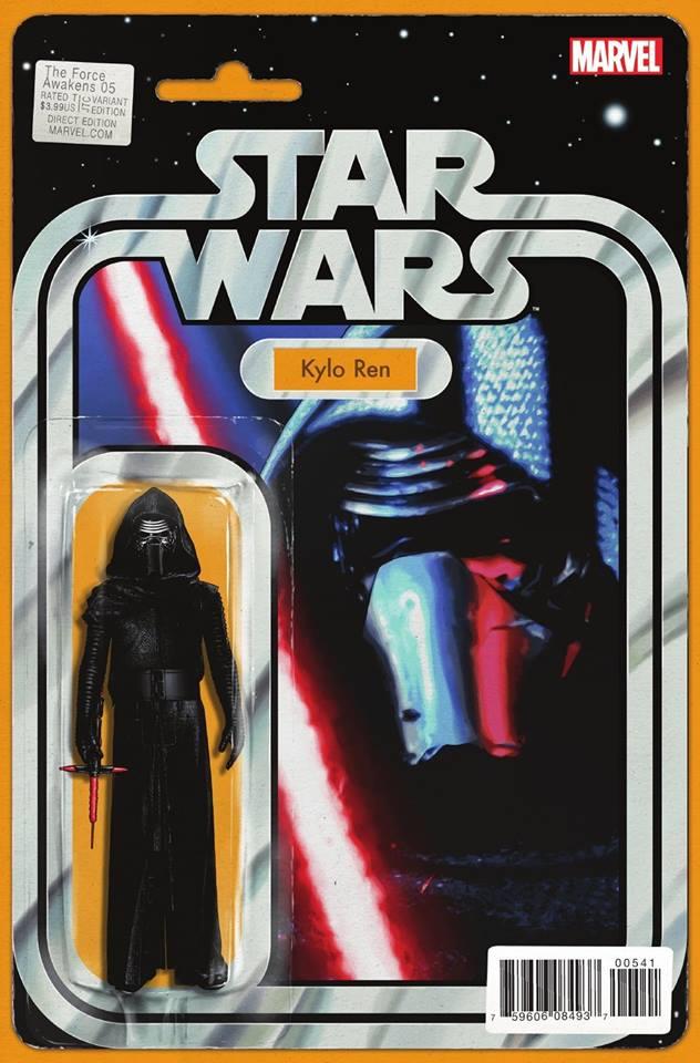 Star Wars The Force Awakens 5 - Action Figure Variant - Kylo Ren