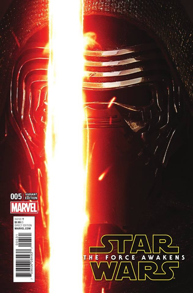 Star Wars The Force Awakens 5 - Movie Variant