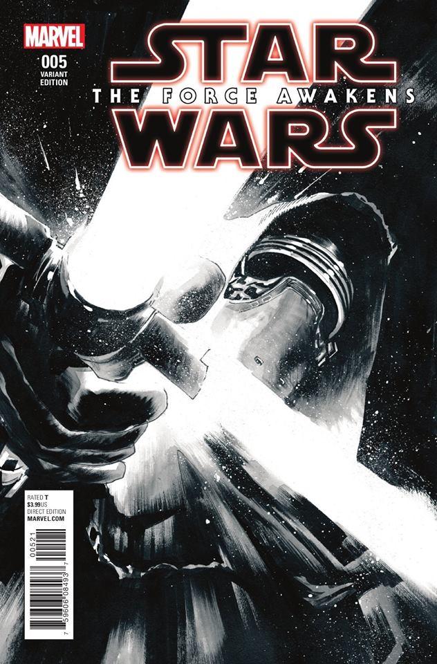 Star Wars The Force Awakens 5 - Sketch Variant