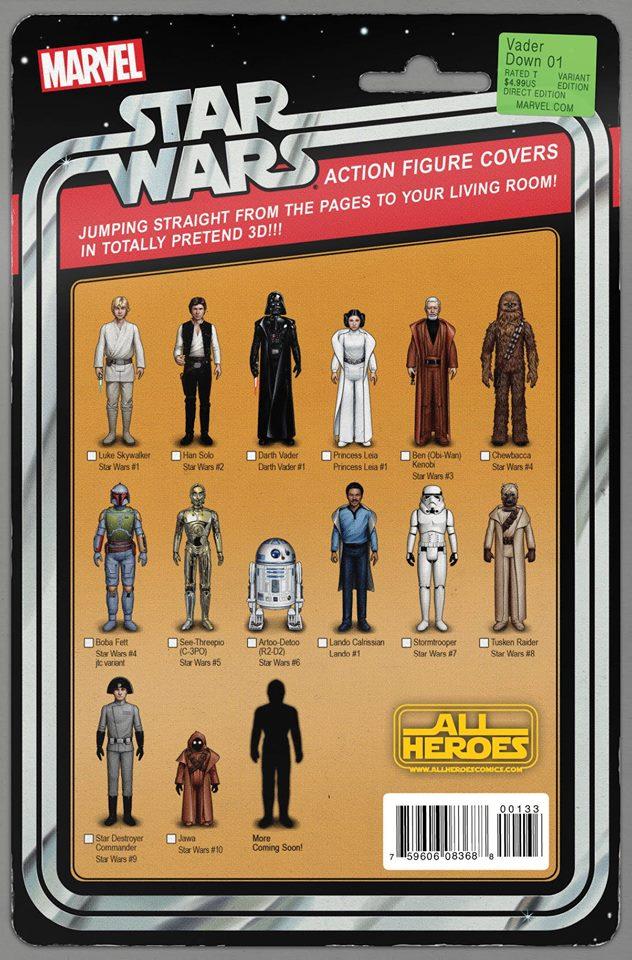 Star Wars Vader Down - Wonderworld Action Figure Variant 2