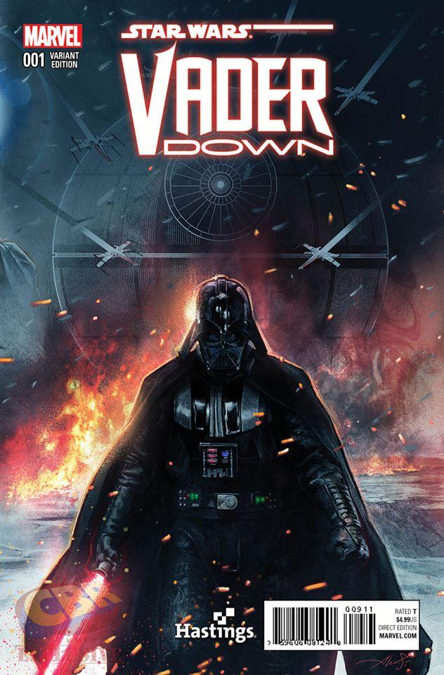 Star Wars Vader Down - Hastings Variant