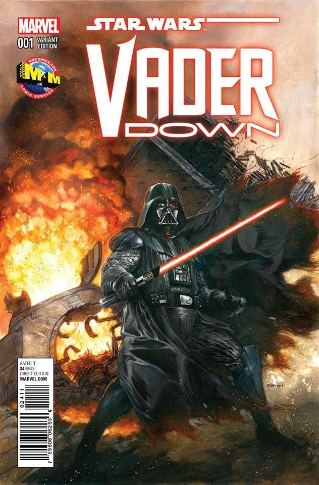 Star Wars Vader Down - Dave Dorman Variant