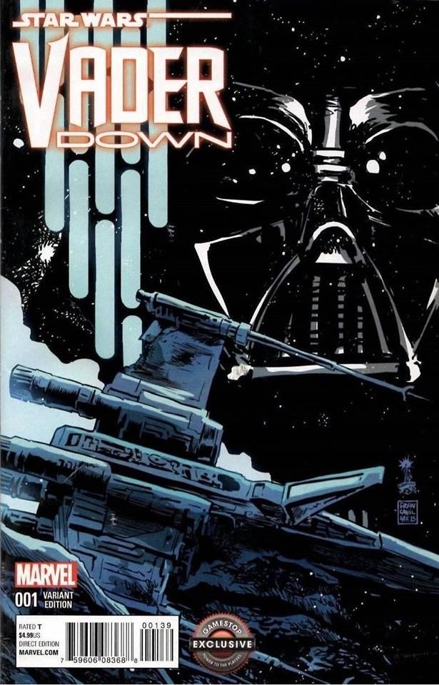 Star Wars Vader Down - Gamestop Variant