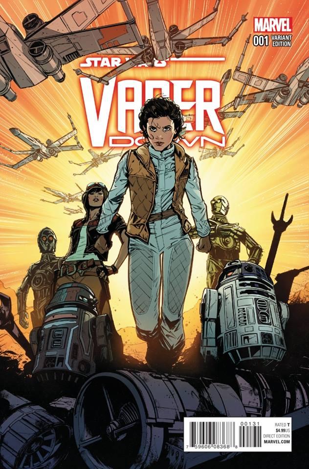 Star Wars Vader Down - Leia Variant