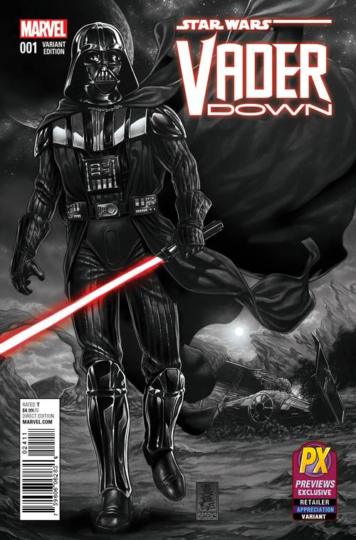 Star Wars Vader Down - Previews Exclusive Sketch Variant