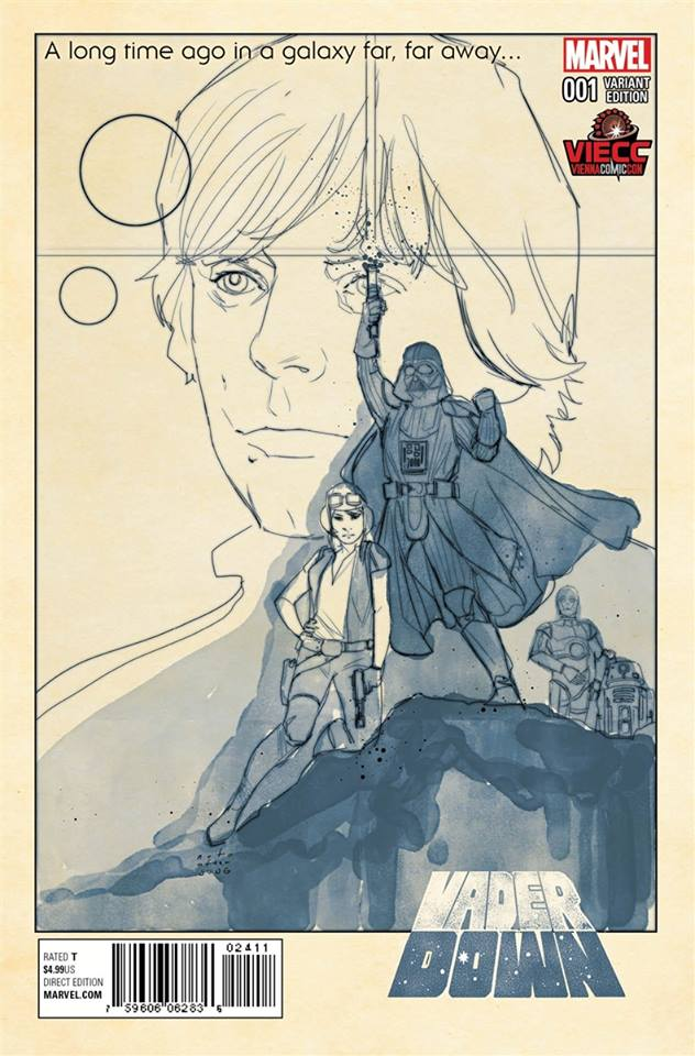 Star Wars Vader Down - Vienna ComicCon Sketch Variant (Phil Noto)