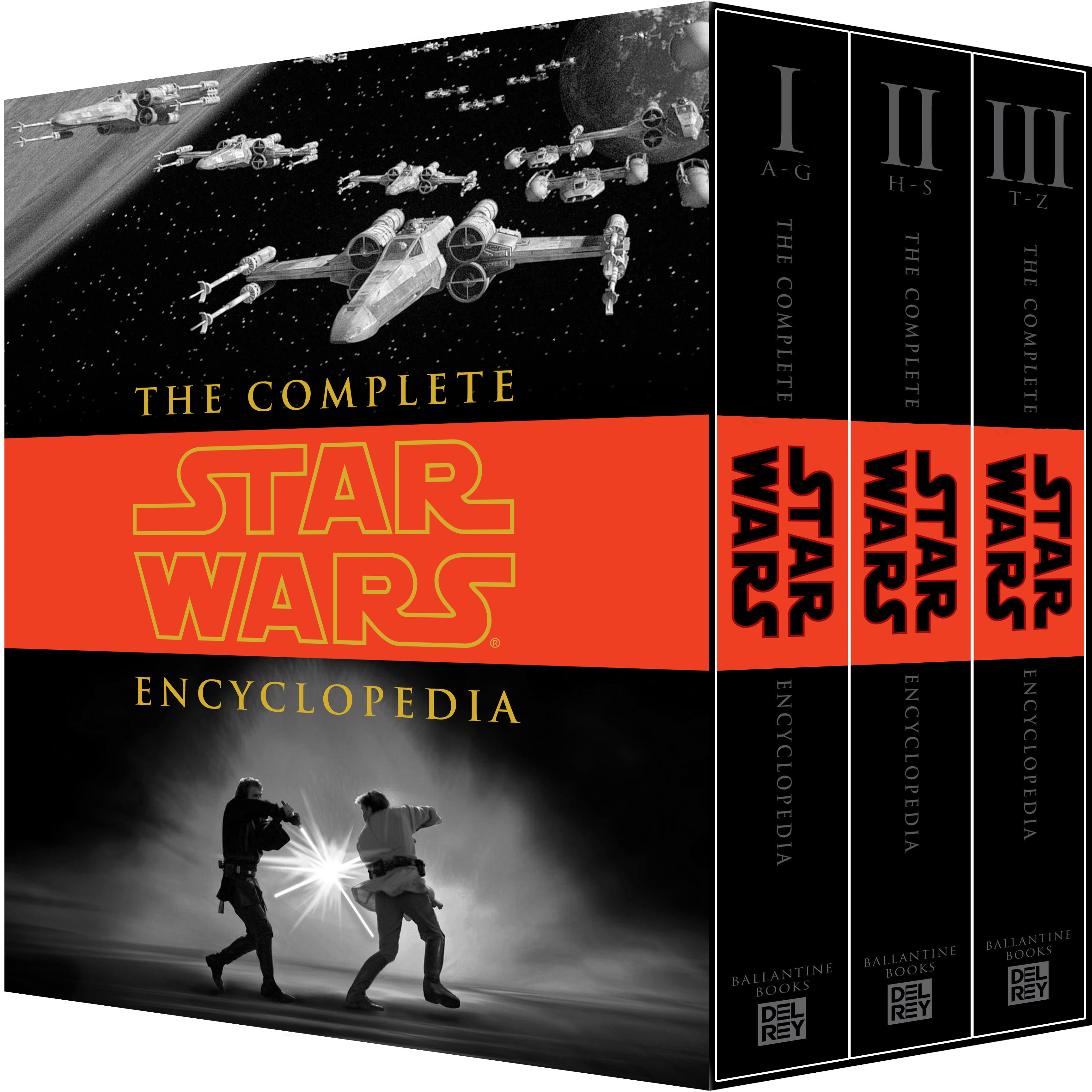 The Complete Star Wars Encyclopedia (Volumes I-III)