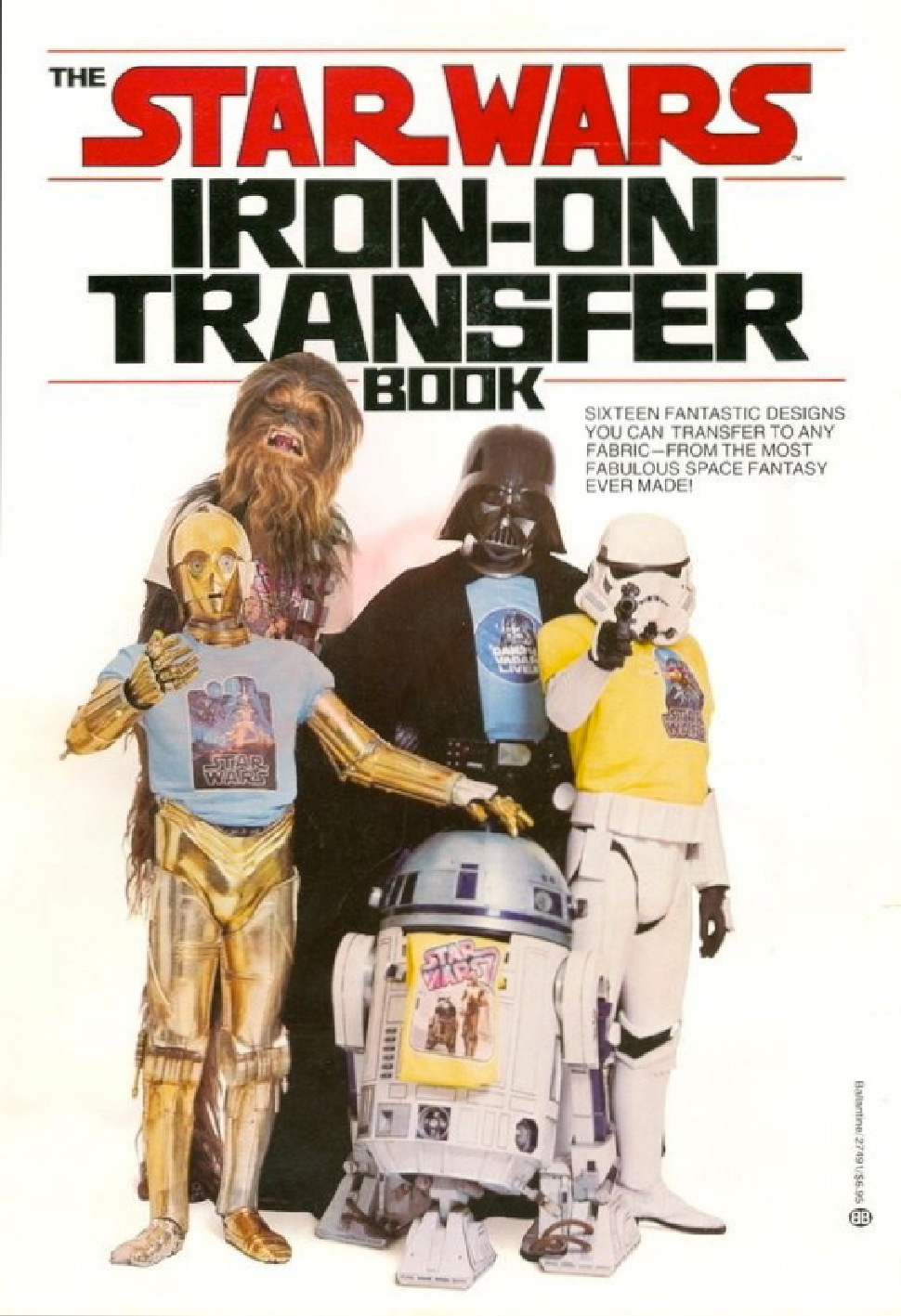 The Star Wars Iron-on Transfer Book