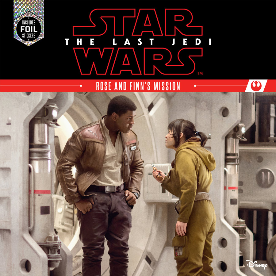 Star Wars The Last Jedi: Rose and Finn's Mission (hardcover)
