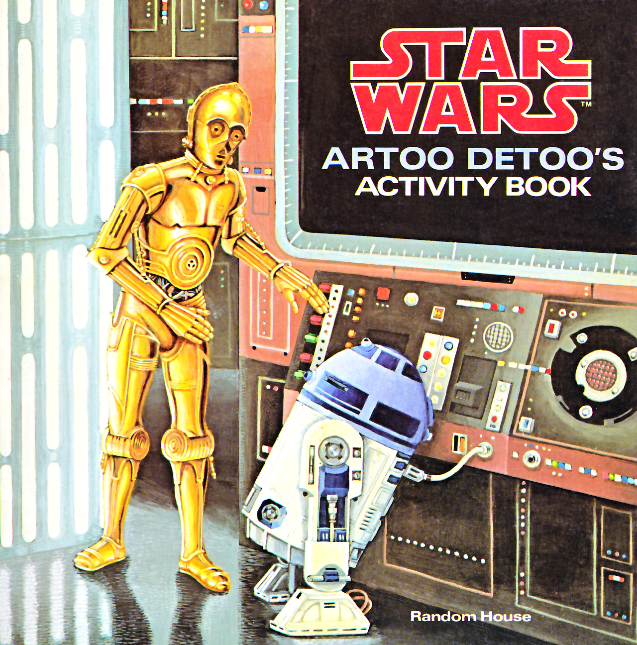 Star Wars: Artoo-Detoo's Activity Book